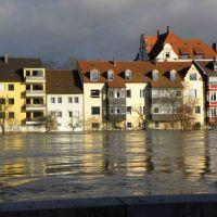 Donau, Hochwasser, Регенсбург