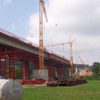 Bau der Chambtalrücke, Фурт