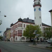 Das Rathaus in Hof, Хоф