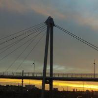Abendhimmel bei der Luftbrücke am Hofer Bahnhof 29.04.12, Хоф