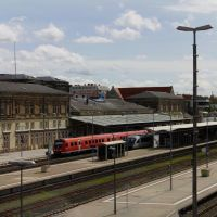 Bahnhof Hof 10.05.12 - 02, Хоф