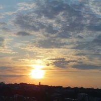 Sonnenuntergang in Hof 27.05.12, Хоф
