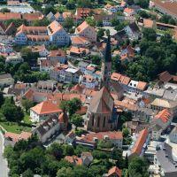 Kirche von oben, Дингольфинг
