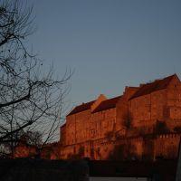 befeuert   -  Burg von Burghausen, Бургхаузен