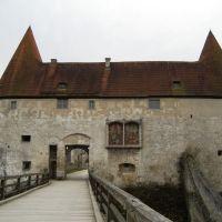 Georgstor, bayrisches u polnisches Wappen, Бургхаузен