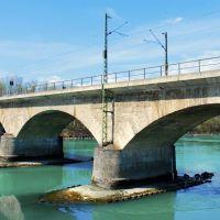 Bahnbrücke über den Inn, Розенхейм
