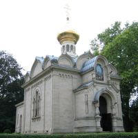 Russisch-Orthodoxe Kirche in Baden-Baden / Russian-orthodox church in Baden-Baden, Баден-Баден