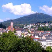 Pano auf Baden-Baden, Баден-Баден