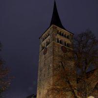 Sindelfingen - Martinskirche in vorweihnachtlichem Glanz. ... Scherzle gmacht :), Зинделфинген