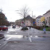Karlsruhe, Ort des Buback-Attentats, Карлсруэ