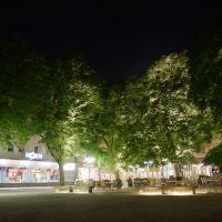 Kaffee vor der Stephans-Kirche, Карлсруэ