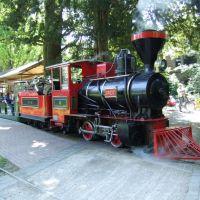 """Karlsruhe, Eisenbahn im Schloßpark, Lok """"GREIF"""", Карлсруэ"""