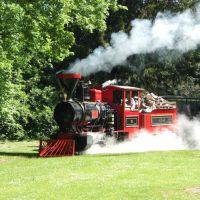 Karlsruhe, Eisenbahn im Schloßpark, Карлсруэ