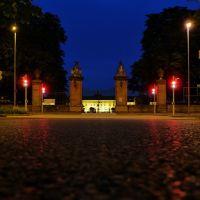 Night time  @ castle, Людвигсбург