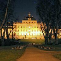 Ludwigsburg-Barockschloss-Night, Людвигсбург