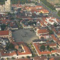 Luftbild Marktplatz Ludwigsburg, Людвигсбург