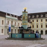 the royal fountain, Людвигсбург