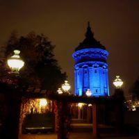 Turnul de apa in odajdii albastre - Wasserturm, Mannheim, Germania, Мангейм
