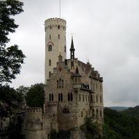 Németország,Svab Alb,Lichtenstein várkastélya, Рютлинген