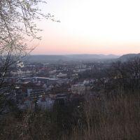 Tübingen: Blick von der Wilhelmshöhe, Рютлинген