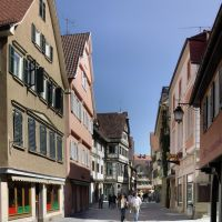 Immer belebt - Altstadt von TÜ, Тюбинген