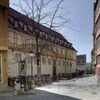 """Evangelisches Stift       -    """"falscher Christusdorn"""" http://de.wikipedia.org/wiki/Amerikanische_Gleditschie, Тюбинген"""