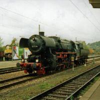 Tübingen Dampflokfestival der EFZ BR 52, Тюбинген