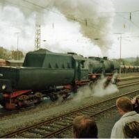 Tübingen Dampflokfestival der EFZ BR 52 (Kriegslok), Тюбинген