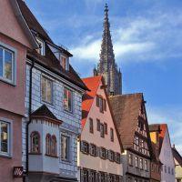 Münster vom Kornhaus, Ульм