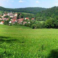 Bebenhausen: Panorama über Bebenhausen, Фрейберг
