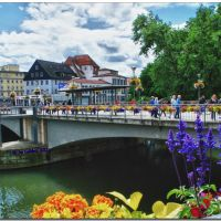 Die reizvolle Neckarbrücke in Tübingen, Фрейберг