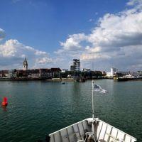 Bodensee, Ankunft in Friedrichshafen, Фридрихсхафен