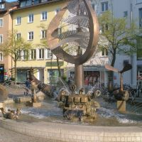 Fountain in town, Фридрихсхафен