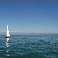 Regaty (i żeglowanie) na Jeziorze Bodeńskim/Regatta (and sailing) on the Constance Lake, Фридрихсхафен