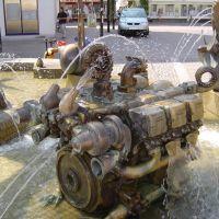 Friedrichshafen, undichter Motorblock, Фридрихсхафен