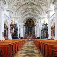 Das Kloster Hofen. Die Schlosskirche., Фридрихсхафен