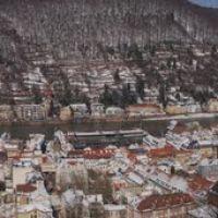 Heidelberg. Riesensteinkanzel. The 2nd most beautiful side of Heidelberg. 15 verticals ~150°, Хейдельберг