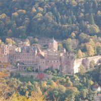 Heidelberg - Schloss vom Bismarckturm, Хейдельберг