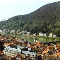 Heidelberg, Germany as seen from the castle, Хейдельберг