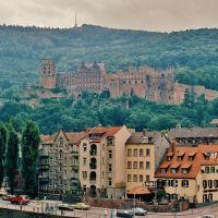 Castle in Heidelberg   ( Friday, Aug. 15, 1986 ), Хейдельберг