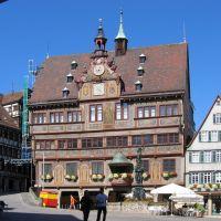 Tübingen: Rathaus/ city hall, Хейденхейм-ан-дер-Бренц