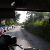 Oberbettringer Str, Staus vor dem Kreisverkehr GD., Швабиш-Гмунд