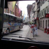 Enge Durchfahrt ins Zentrum ,Kappelgasse, Швабиш-Гмунд