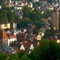 Schwäbisch Gmünd vom Mutlanger Berg aus, Швабиш-Гмунд