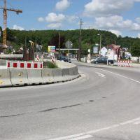 Lorcher Straße  Tunnelbau  B 29 . 23 Mai 2010, Швабиш-Гмунд