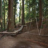 16. Geschicklichkeitspfad Diese Hindernisstrecke führt mitten durch den Wald, Швабиш-Гмунд
