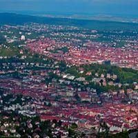 GER Stuttgart from Fernsehturm in Hoher Bopser by KWOT, Штутгарт