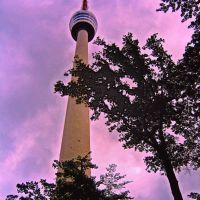 GER Stuttgart Fernsehturm in Hoher Bopser {Worlds 1st-type} by KWOT, Штутгарт