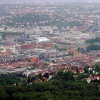 Fernsehturm Stuttgart: Panorama und Neues Schloss, Штутгарт
