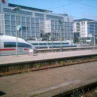 Stuttgart Hauptbahnhof ICE 3 und Cisalpino, Штутгарт